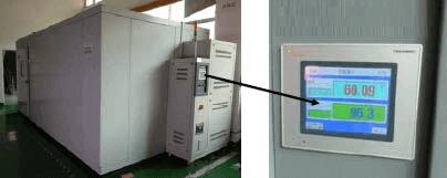 testiranje temperature in vlaznosti
