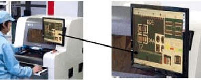 naprava za avtomatsko opticno testiranje